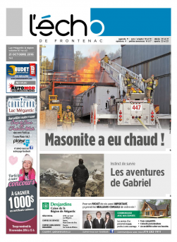 Volume 87 no 43 - 21 octobre 2016