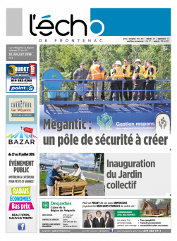 Volume 87 no 30 - 22 juillet 2016