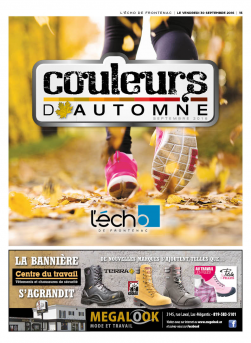 Cahier automne 2016