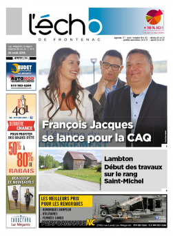 volume 89 no 34 - 24 août 2018