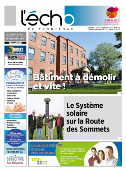 Volume 89 no 39 - 28 septembre 2018
